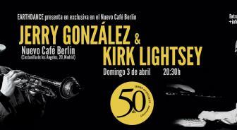 JERRY GONZALÉZ & KIRK LIGHTSEY en Café Berlín, Madrid