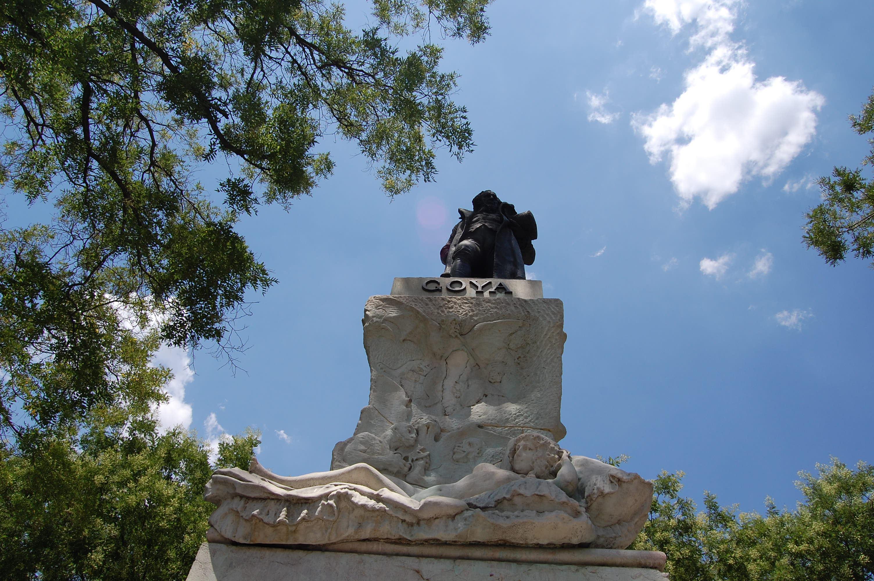 Estatua de Francisco de Goya - Madrid